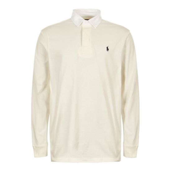 Ralph Lauren Rugby Shirt 710717115 006 Off White