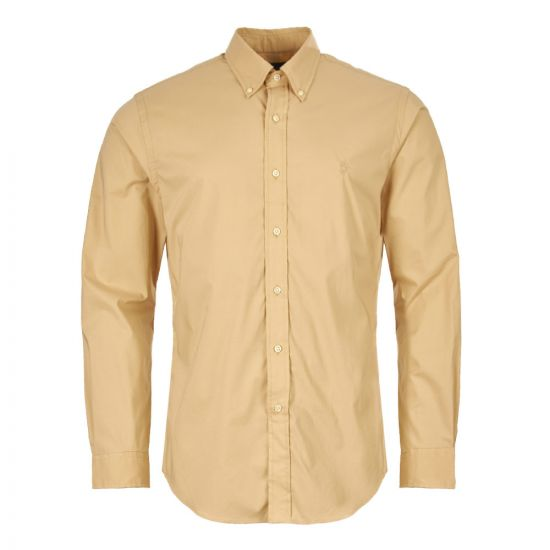 ralph lauren shirt 710742463 003 tan