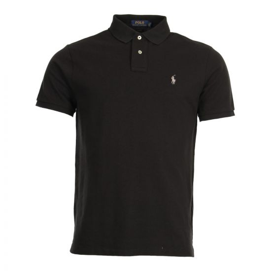 Ralph Lauren Polo Shirt 710548797009 In Black