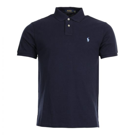 Ralph Lauren Slim Fit Polo 710548797 010 Navy