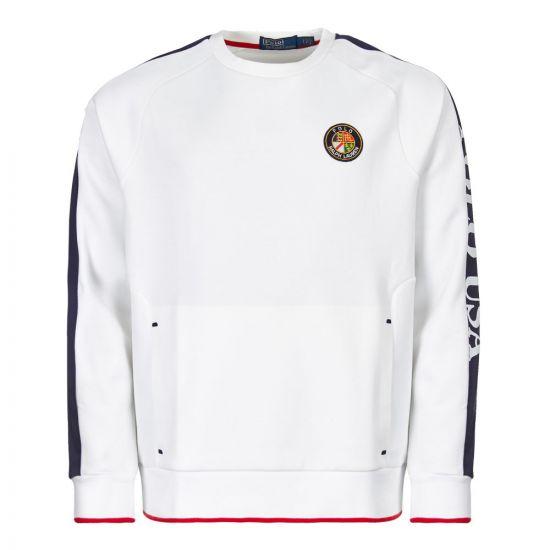Ralph Lauren Sweatshirt 710717624 001 White
