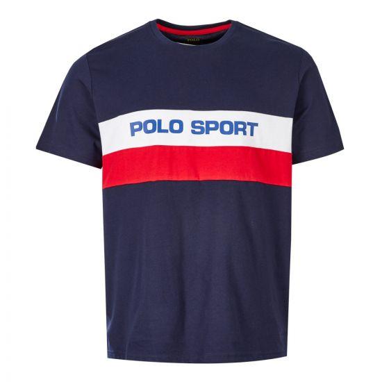 3080bcac T-Shirt Polo Sport - Navy / Multi