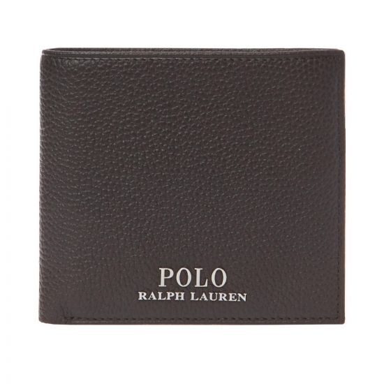 Ralph Lauren Coin Wallet 405710792 002 Brown