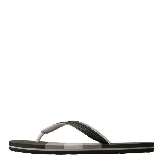 Ralph Lauren Flip Flops in Whitlebury Black A89XZA51 XYA51X W9W6