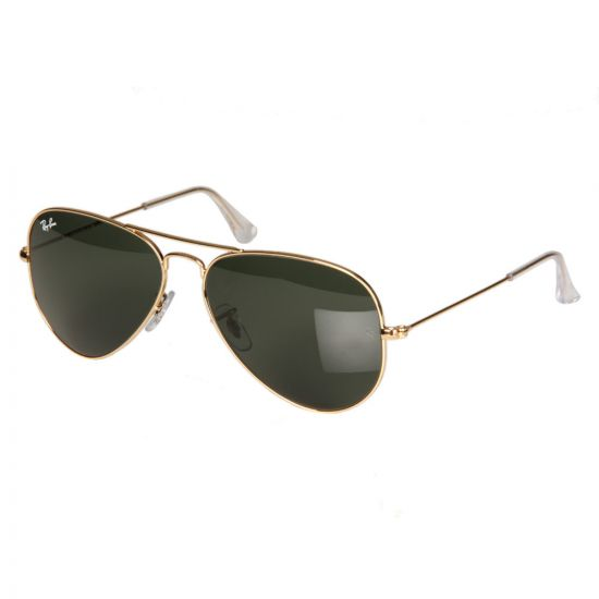 Ray Ban Aviator Sunglasses | RB3025 Arista Gold
