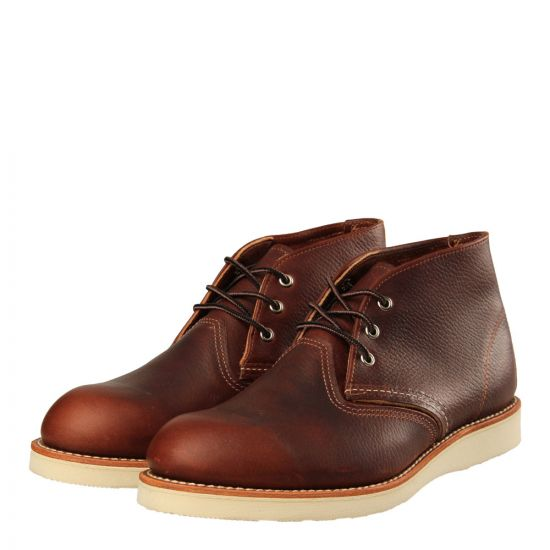 Red Wing Chukka 3141 in Briar Oil Slick Leather.