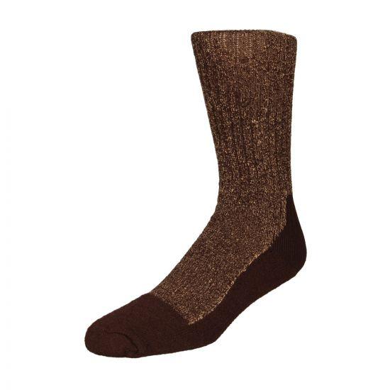 Red Wing Deep Toe Capped Wool Socks 97173 Brown