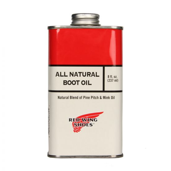 Red Wing All Natural Boot Oil.