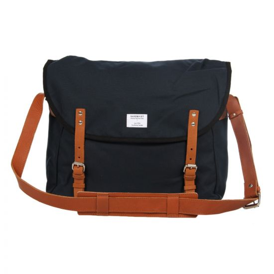 Sandqvist Erik Messenger Bag - Navy