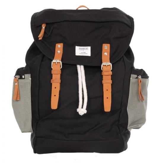 Sandqvist Backpack - Black Lars-Goran