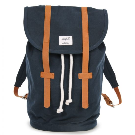 Sandqvist Backpack - Navy Stig