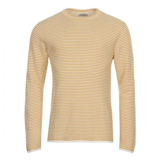 Saturdays NYC Alek Stripe Jumper M21811 AK02 S6400 Dusty Amber