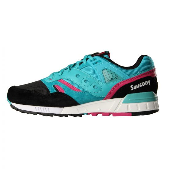 Saucony Grid Trainers SD Games Teal Black