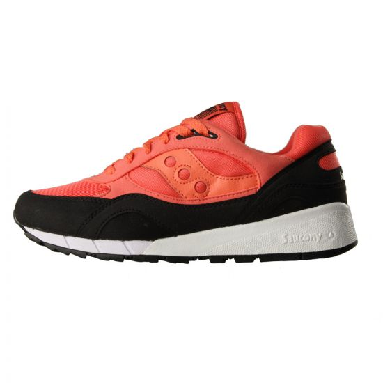 "Shadow 6000 ""Betta Pack"" Trainers - Coral/Black"