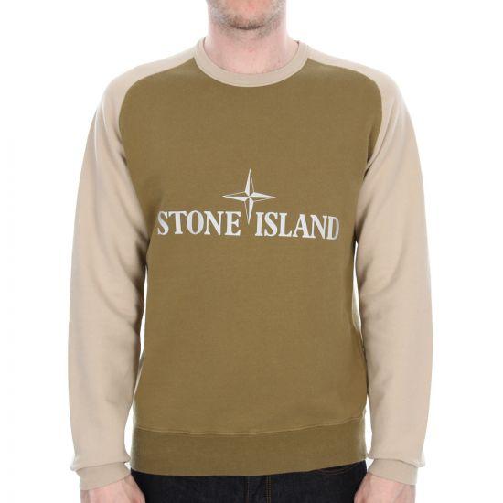 Stone Island Sweatshirt Olive 621564258
