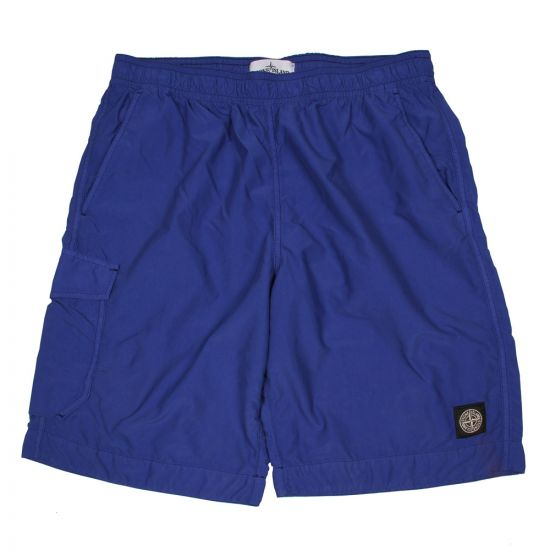Stone Island Swimming Shorts - Blue Bermuda