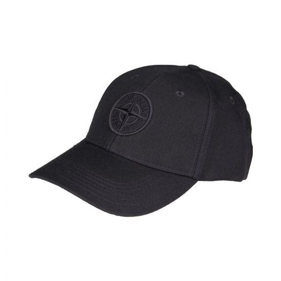 Stone Island Compass Logo Cap 691599175 V0026 Navy
