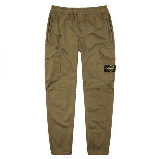 Stone Island Cargo Trousers 711531914 V0058 Olive