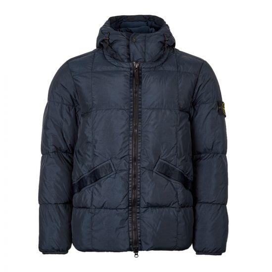 Stone Island Down Jacket Crinkle Reps 711540223 V0020 Navy