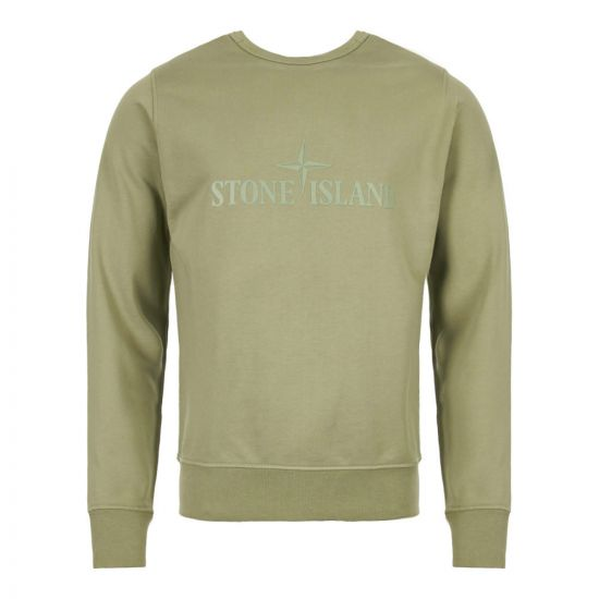 Stone Island Sweatshirt 701560151 V0055 Double Face Green