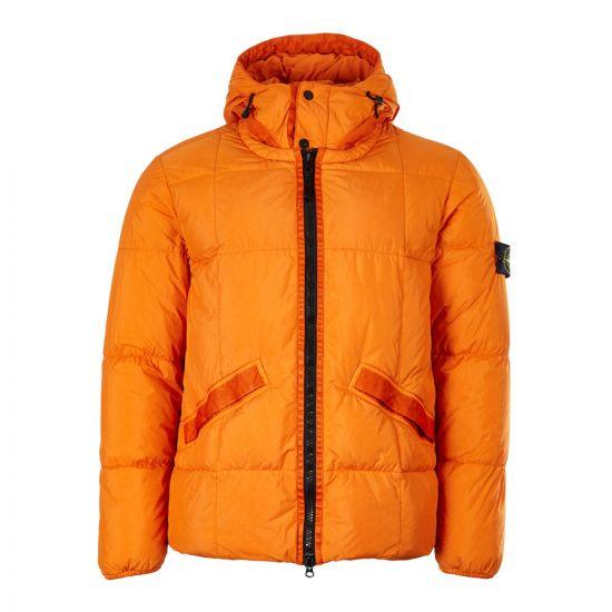Stone IslandJacket Crinkle Reps Garment Dyed 711540223 V0032 Orange