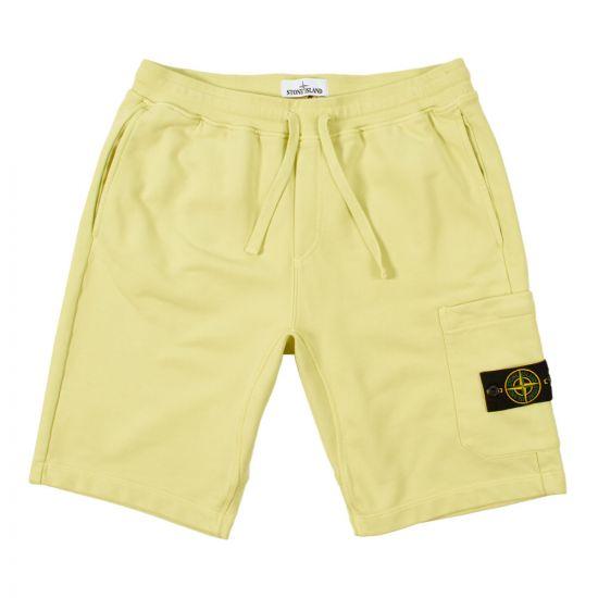 stone island shorts 701564651 V0031 yellow