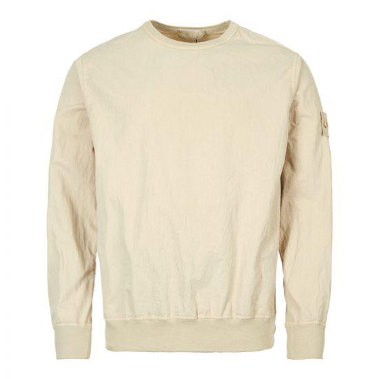 Stone Island Sweatshirt Ghost Piece 7015659F2 V0090 Beige