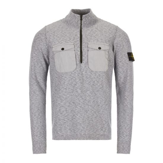 stone island knitted pullover 7015555B0 V1028 grey