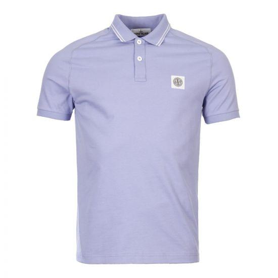 stone island polo shirt 701520616 V0047 lavender