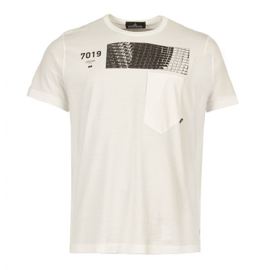 stone island shadow project t-shirt MO701920110 V0099 white