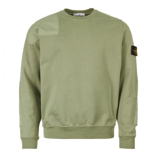 Stone Island Sweatshirt 701563451 V0055 Green