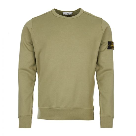 stone island sweatshirt 701562751 V0055 green
