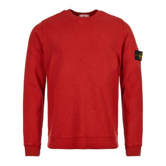 stone island sweatshirt 701565560 V0115 rust