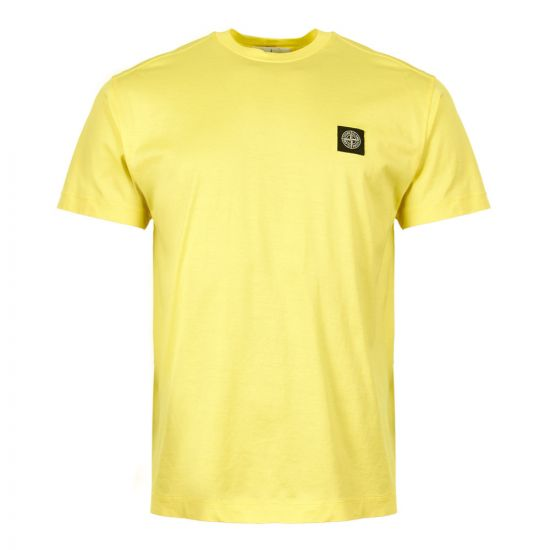 Stone Island T-Shirt 701524113 V0031 in Yellow