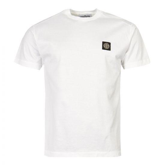 stone island t-shirt 701524113 V0001 white