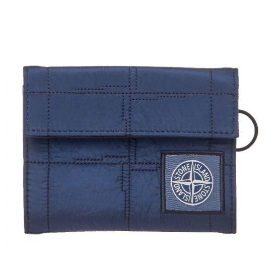 Stone Island Wallet 701590479 V0028 Blue