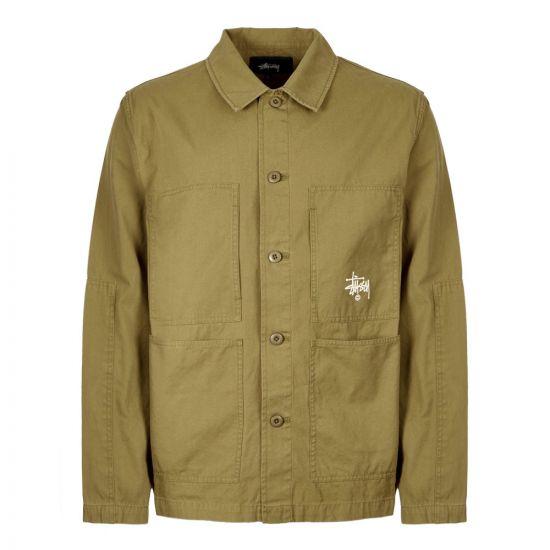 Stussy Jacket Torque | 115463 OLIVE