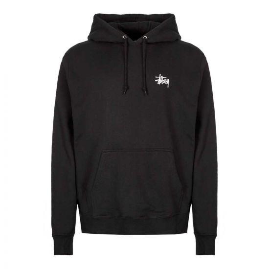 stussy hoodie 1924416 BLK black