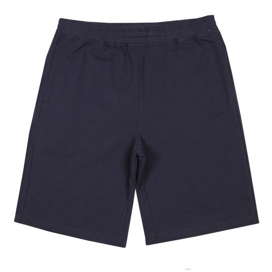 Stussy Stock Sweat Shorts 112219 Navy