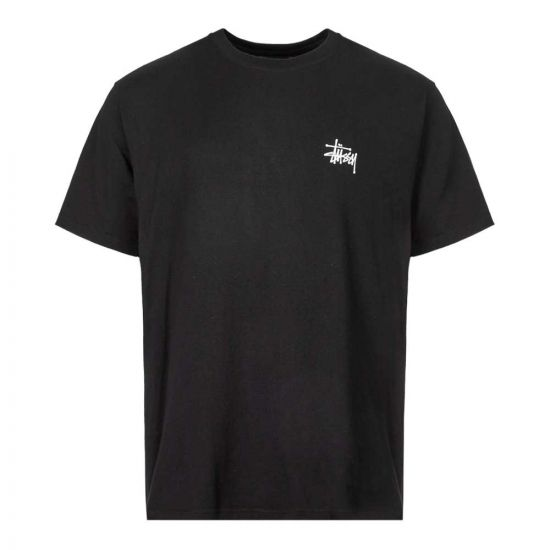 stussy t-shirt 1904416 BLACK black