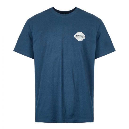 Stussy T-Shirt Circuit | 1904420 NAVY