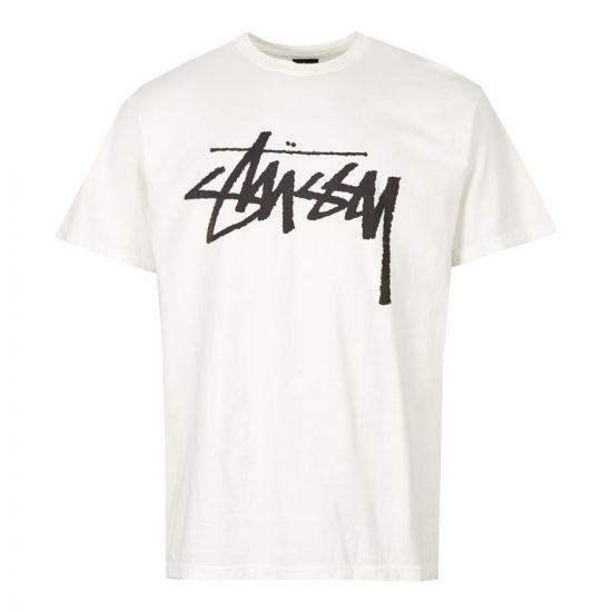 stussy t-shirt 190442 NAT natural