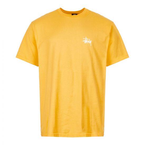 stussy t-shirt 1904416 ORANGE yellow