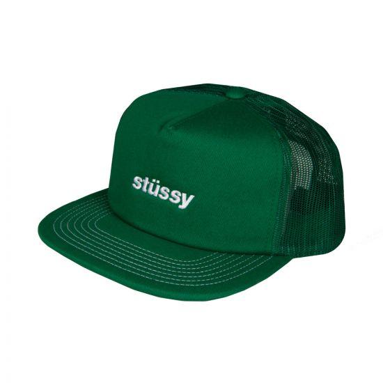 stussy trucker cap 131781 green