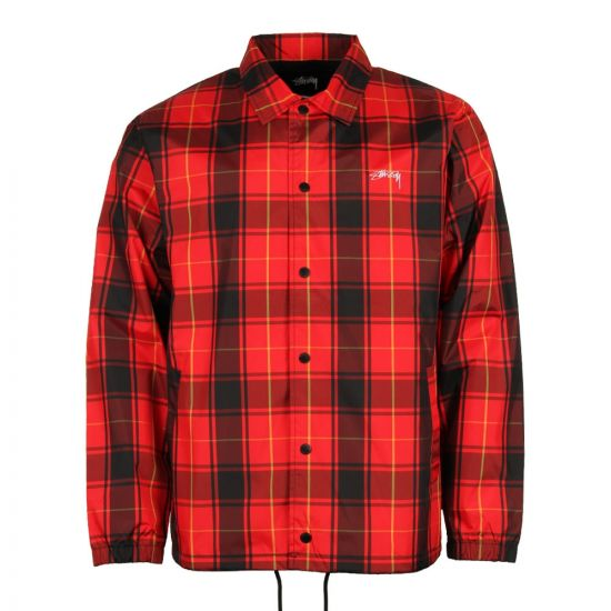 Stussy Cruize Coach Jacket 115353H017 Red
