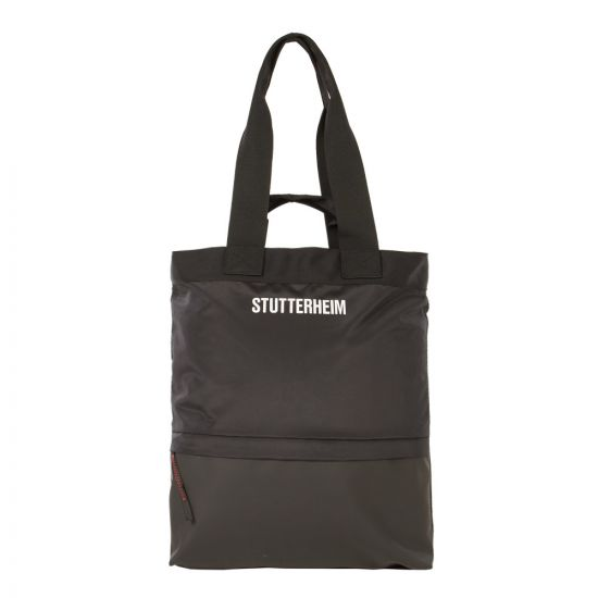 Stutterheim Tote Bag | 1906 1001 Black