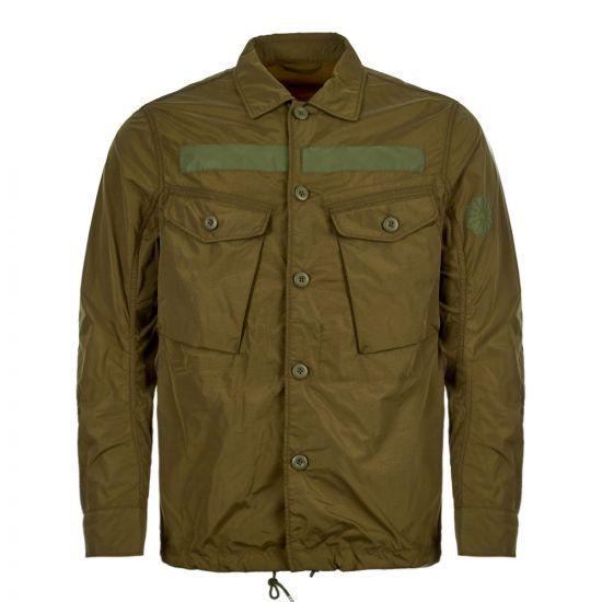 Ten c Field Shirt TCUC04059 005284 670 Olive
