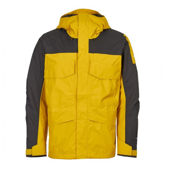 the north face jacket fantasy ridge T93BP8WY1 yellow/grey