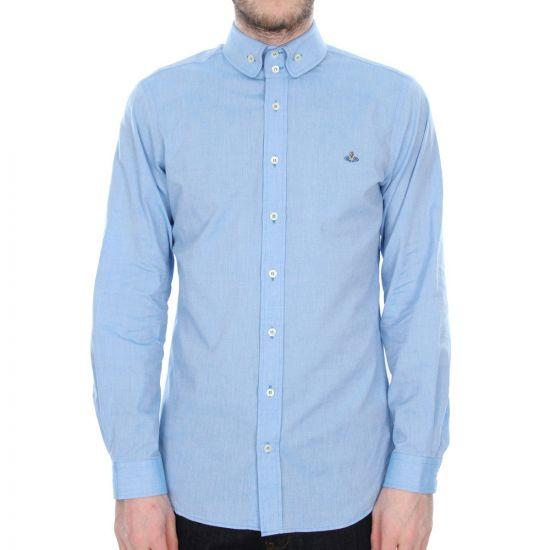 Vivienne Westwood Long Sleeve Shirt in Blue