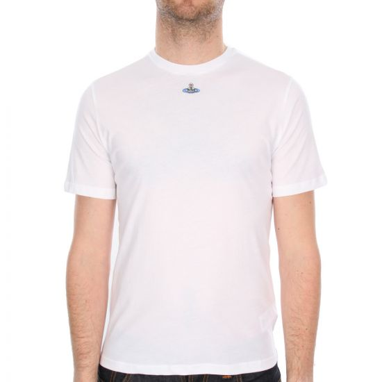 Vivienne Westwood T Shirt White Small Orb